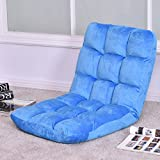 Cushioned Floor Gaming Sofa Chair Folding 5 Positon