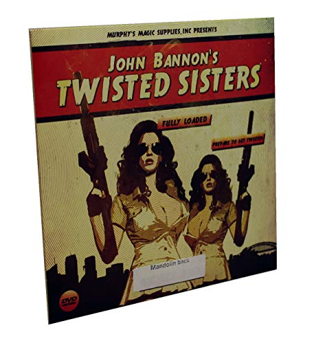 Murphy's Magic Twisted Sisters 2.0 (DVD and Gimmick) by John Bannon - Trick