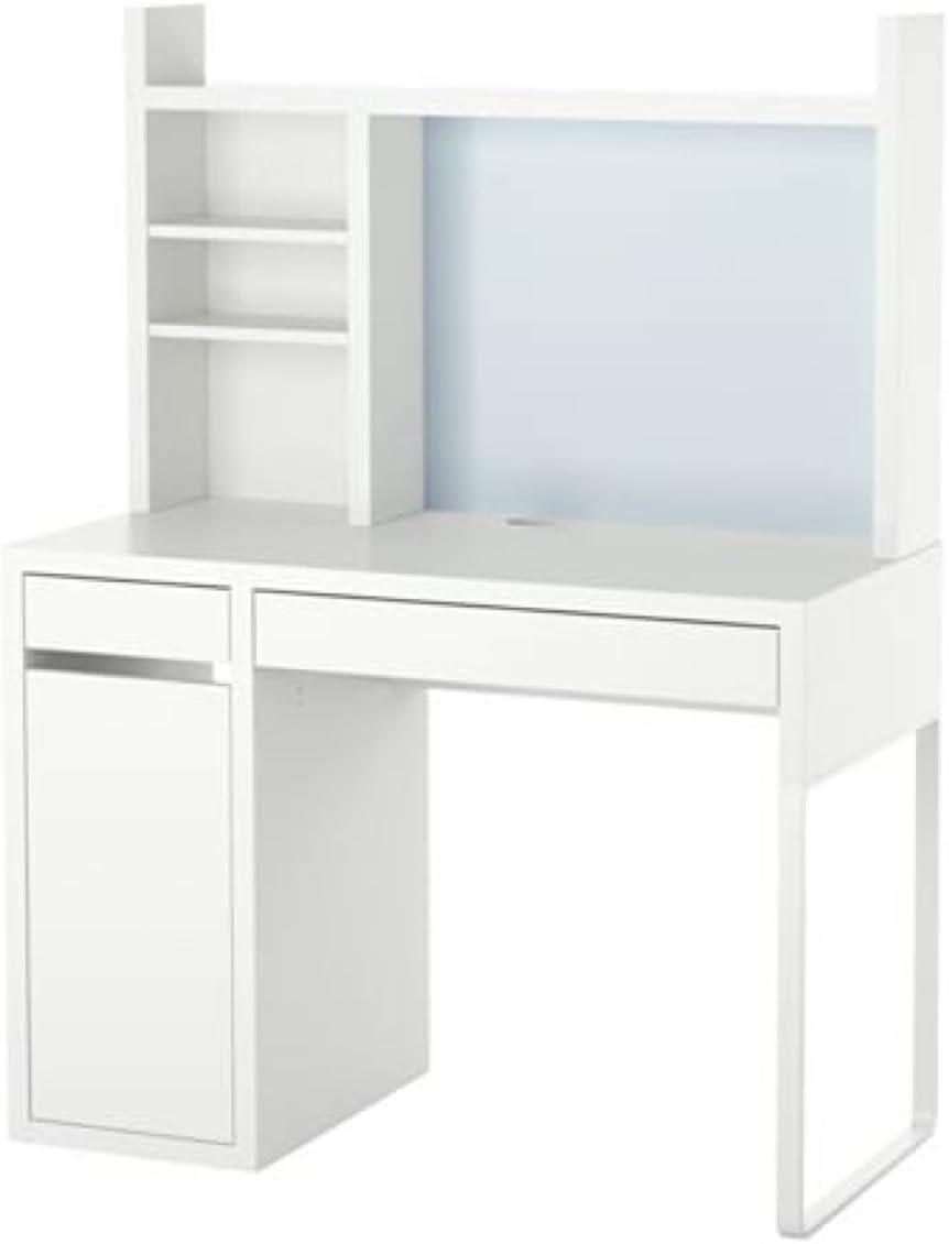 IKEA Micke 099.030.14 - Estación de trabajo para ordenador, color blanco: Amazon.es: Hogar