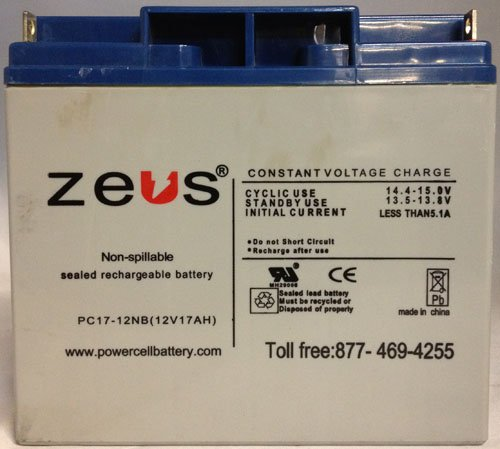 12V 17Ah SLA Rechargeable Battery for APC Systems
