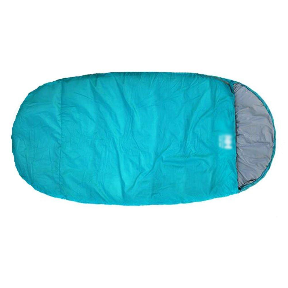 Keep Warmポータブル単一Sleeping Bagキャンピングバッグ – トロピカルブルー B01FS74YQ0