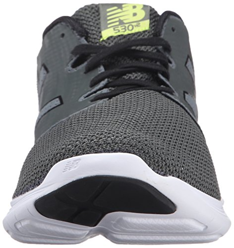 New Balance Hombres 530v2 Running Shoe Grove / Negro