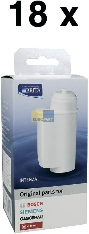 Pack de 6 Bosch Siemens 17000705/Brita Intenza cartucho de filtro de agua