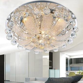 Moderne Kristall Deckenleuchten Wohnzimmer LED: Amazon.de: Beleuchtung