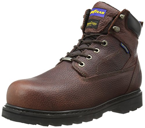 Goodyear GY6393 Steel Toe Waterproof Insulated Work Boot, Dark Brown/Oiled Nubuck, 11 W US by Goodyear