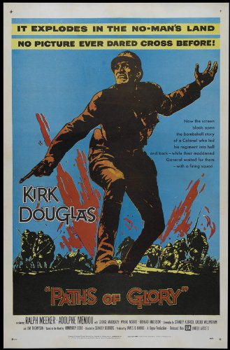 (Paths of Glory 27x40 Movie Poster (1957))