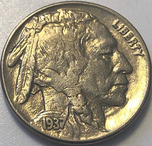 1935 P Buffalo Nickel Almost Uncirculated AU Condition