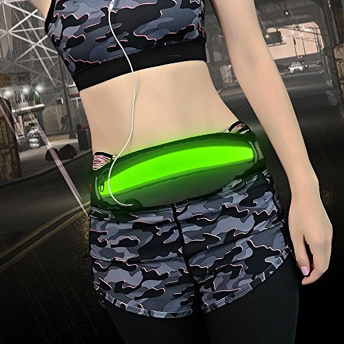 Bseen LED Waist Pack Runners