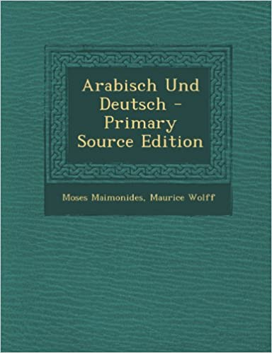 Arabisch Und Deutsch - Primary Source Edition (German Edition)
