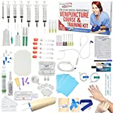 IV Practice Kit with Phlebotomy / Venipuncture How-to Guide Designed by Medical Professionals for Students to Practice & Perfect IV, Phlebotomy, & Venipuncture Related Skills - The Apprentice Doctor