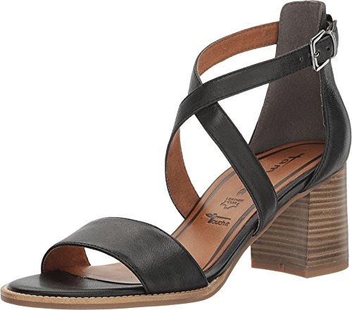 Tamaris - Sandalias de vestir de Piel para mujer negro