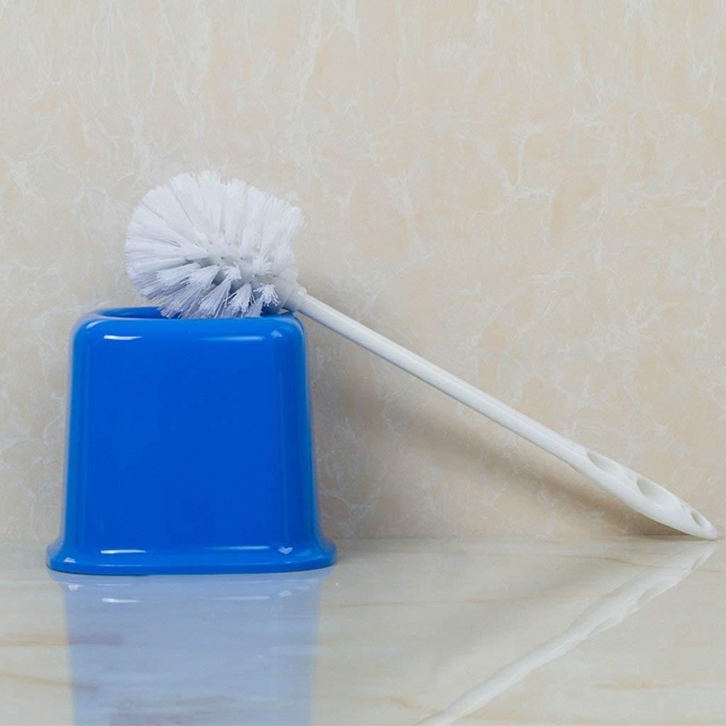 QiXian Toilet Brush Waste Bin Set Toilet Brushes Holders Bathroom Toilet Brush Holder Creative Plastic Toilet Brush Toilet Brush Cleaning Brush Strong Sturdy