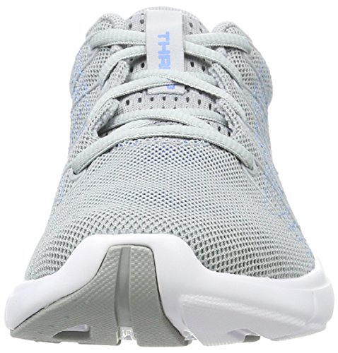 Donna Overcast Thrill UA Running Armour W 3 Gray Under Grigio Scarpe x0AP74wqq