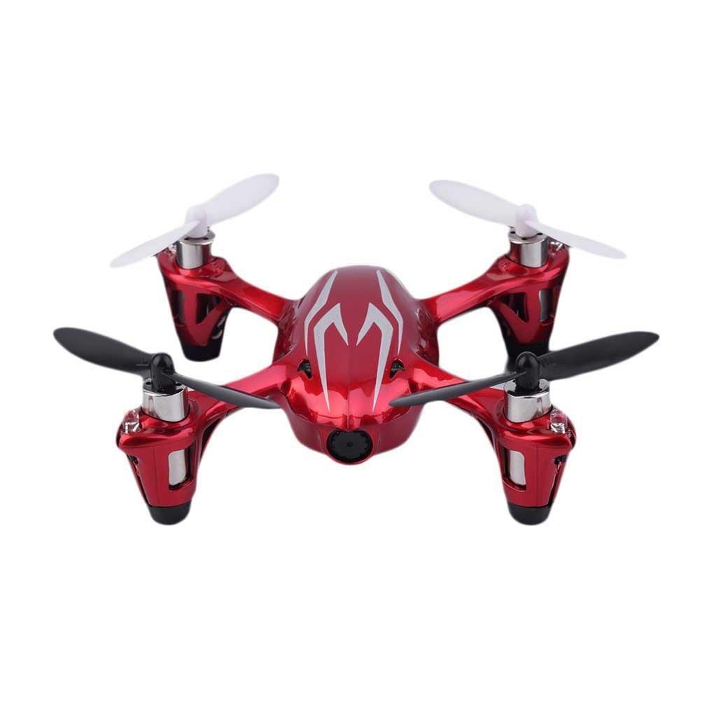 Hubsan X4H107C LED Mini Drone Quadcopter RTF Mode 2con fotocamera 2MP RC Drone con fotocamera 0.3MP 2.4GHz telecomando Drone Quadricottero