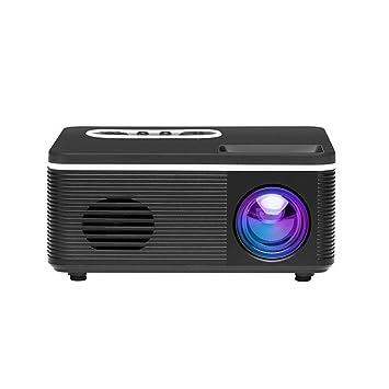 WSY Mini proyector de Video, LED Entretenimiento Proyector ...