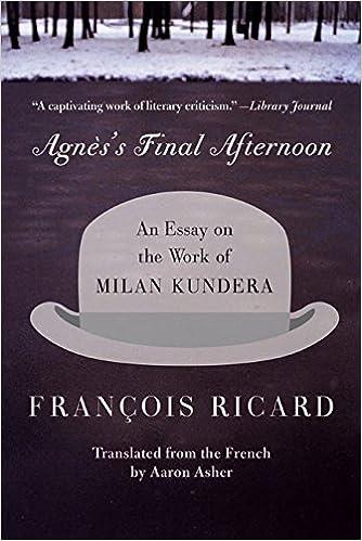 afternoon agness essay final kundera milan work