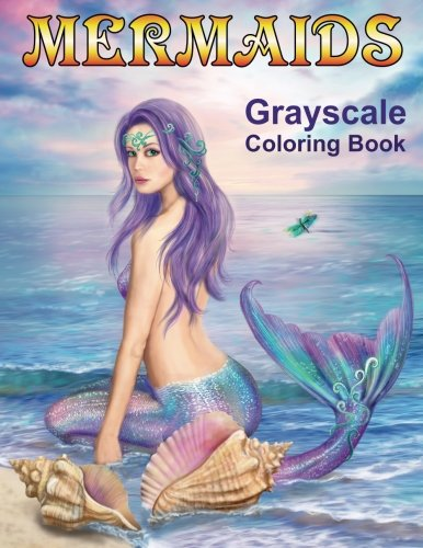 Mermaids Grayscale Coloring book: Coloring Books for Adults ebook