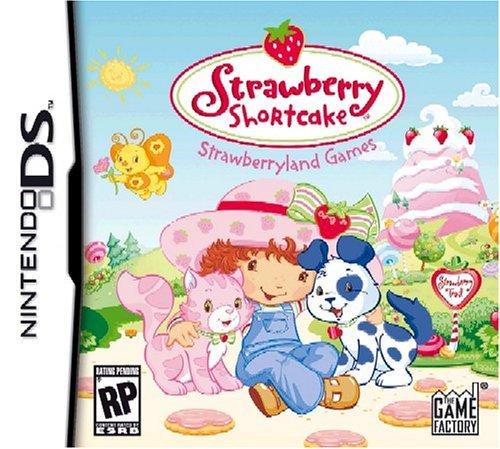 Nintendo Ds Strawberry (Strawberry Shortcake: Strawberryland Games - Nintendo DS by Game Factory)