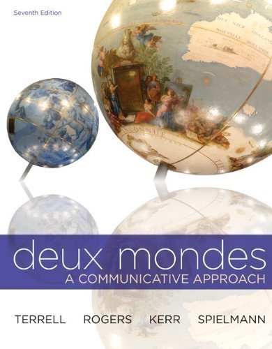 WBLM for Deux mondes (Cahier d'exercices) 7th (seventh) Edition by Terrell, Tracy, Kerr, Betsy, Rogers, Mary, Santore, Fran?ois published by McGraw-Hill Humanities/Social Sciences/Languages (2012)