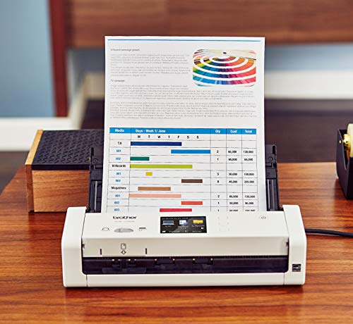 Brother Wireless Compact Desktop Scanner, ADS-1700W, Fast Scan Speeds, Easy-to-Use, Ideal for Home, Home Office or On-the-Go Professionals by Brother (Image #2)