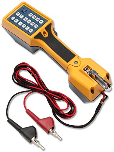 Telephone Test Set - Fluke Networks 22800009 TS22 Telephone Test Set with Angled Bed-of-Nails Clips