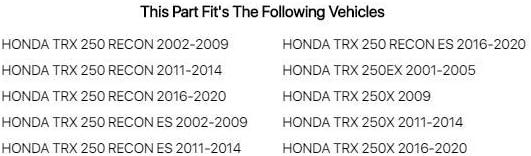 Honda TRX 250 Recon ES 2002-2009 Fits TUSK Top End Gasket Kit