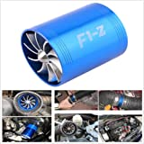 Hot-Sell F1-Z Double Turbine Turbo Air Intake Gas Fuel Saver Fan Supercharger