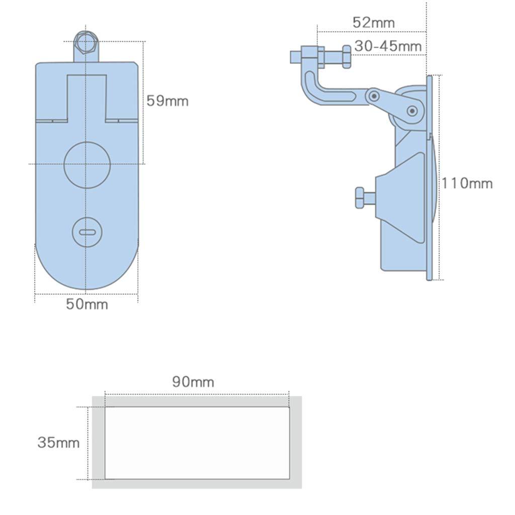 H HILABEE 1 PC Compression Latch Lock Ersatz F/ür Camper Trailer Trunk Tool Box
