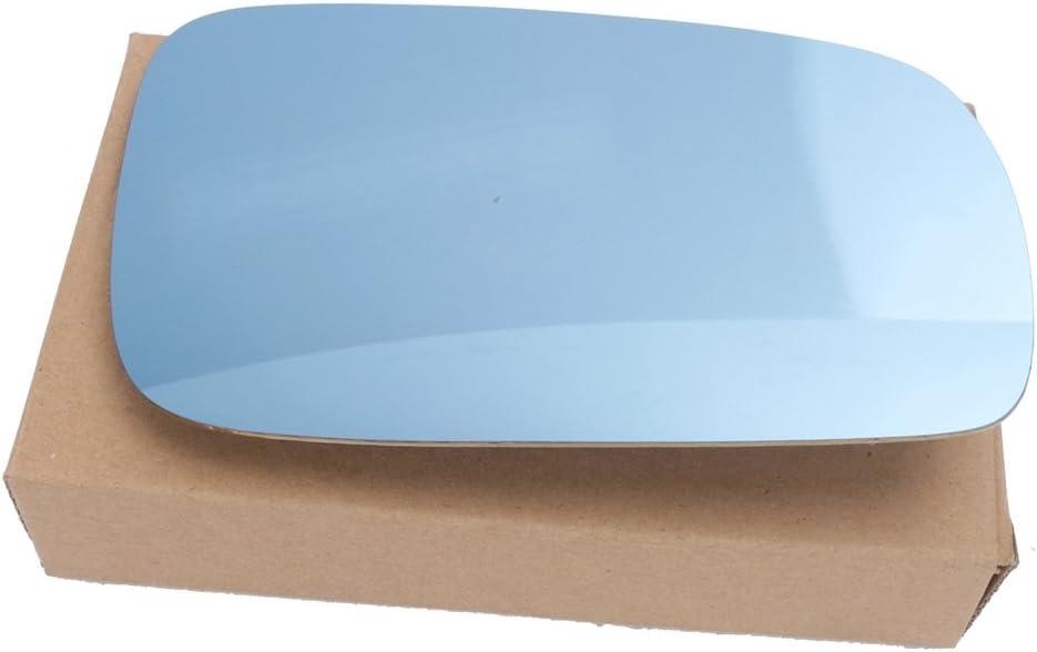 VW Passat Mk5 B5 Estate 1997-2004 Heated Convex Blue Mirror Glass Passenger Side