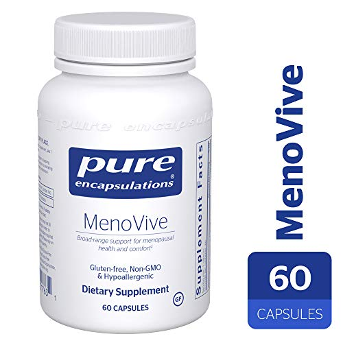 Pure Encapsulations - MenoVive - Broad-Range Support for Menopausal Health and Comfort* - 60 Capsules