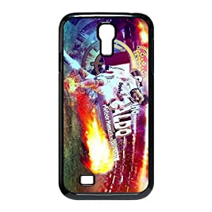 Hard Pattern Cases Xiysp Samsung Galaxy S4 I9500 Cell Phone Case Black Cristiano Ronaldo Protective Fits Cover