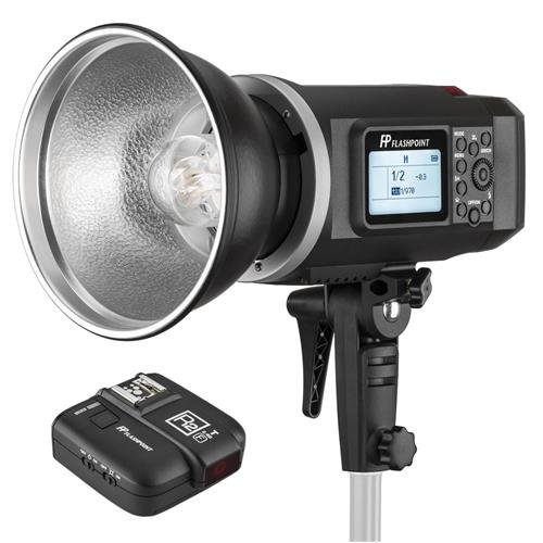Flashpoint XPLOR 600 HSS Battery-Powered Monolight with Built-in R2 2.4GHz Radio Remote System and R2 Transmitter For Fuji (Bowens Mount)(AD600) by Flashpoint