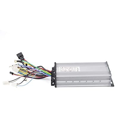Kunray 36V 48V 60V Brushless Controller 800W- 1600W 2000W 2500W ebike Controller with Hall Sensor Speed Controller 12 Mosfet for Electric Scooter Vehicle Scooter Tricycle (48V 2000W 15 Mosfet) : Sports & Outdoors