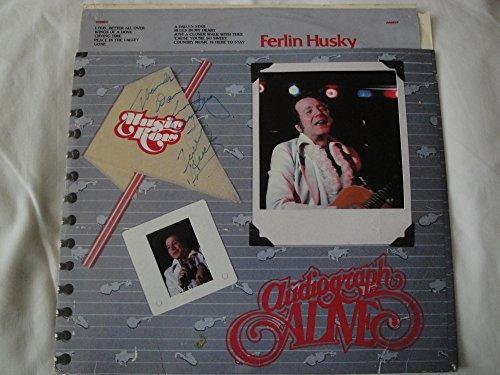 Alive Husky (Ferlin Husky Vinyl Lp Indigo Music AA 6019 Stereo 1982)