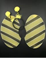 Bumble Bee set of wings and deeley bopper. Size approx 45x40cm. I9232