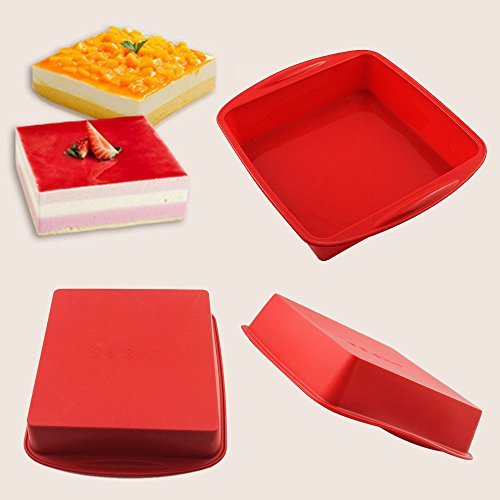 Square Cake Pan Baking Tray - Menu Village Hut