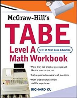 Tabe test of adult basic education the first step to lifelong tabe test of adult basic education level a math workbook the first step fandeluxe Image collections