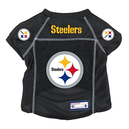 Pittsburgh Jersey Dog - NFL Pittsburgh Steelers Pet Jersey, XS
