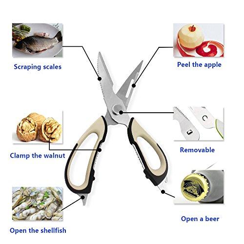 7-in-1-Multifunction-ScissorsCan-Open-BottleCanShellfishPeel-Fruits-VegetableEasy-UseChefs-Kitchen-Tool