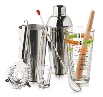Libbey 9-Piece Cool Cocktails Mixologist Set