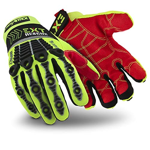 HexArmor EXT Rescue 4012 Firefighter Extrication Gloves with Impact and Cut Protection (Best Ultimate Fighter Moments)