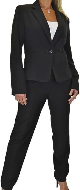ICE Donne i Pantaloni Completo per Ufficio o Business Lavabile 40 a 52