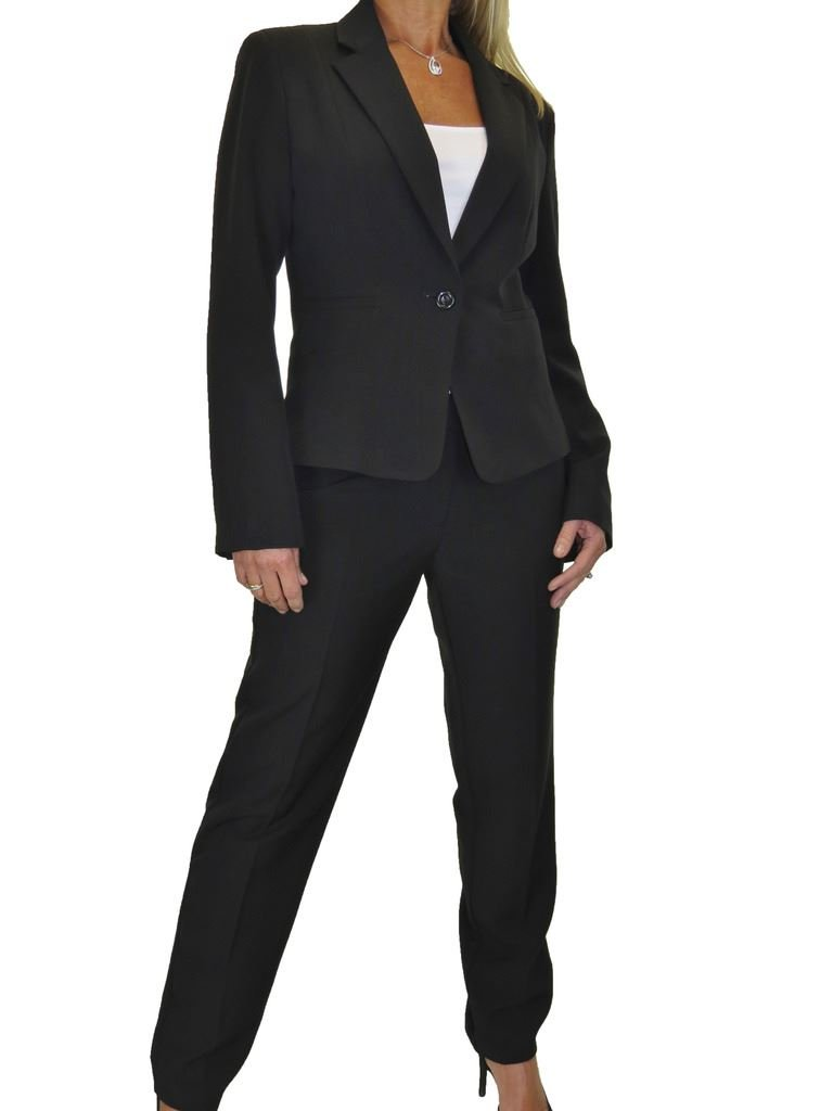 ICE Donne i Pantaloni Completo per Ufficio o Business look designer 40 a 52