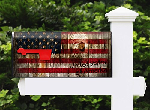 Awesome Mailbox - Custom USA Wood Design - Metal, Post Mount and Made in the USA
