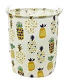 Songsongstore Large Foldable Laundry Hamper Bag Storage Bin Pineapple Y Deal