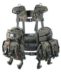 UTG Combat Operational Vest - Woodland Digital