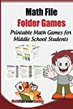img - for Math File Folder Games: 42 Printable Math Games for Middle School Students book / textbook / text book