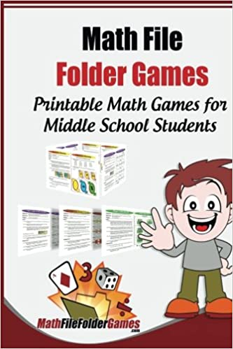 photograph about Printable File Folder Games called Math History Folder Online games: 42 Printable Math Online games for Heart