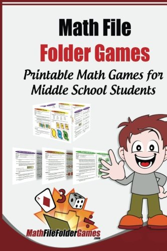 Math File Folder Games: 42 Printable Math Games for Middle School Students
