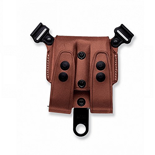 Galco Leather SCL Double Magazine Case for System COLT Tan SCL26 (Magazine Double Galco Case)